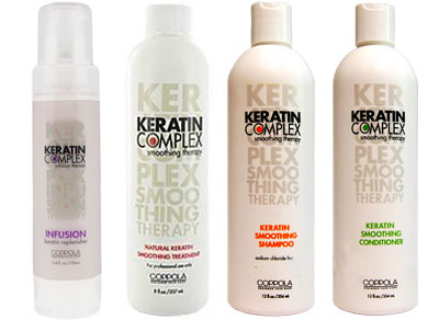 COPOLLA KERATIN COMPLEX hair salon New York