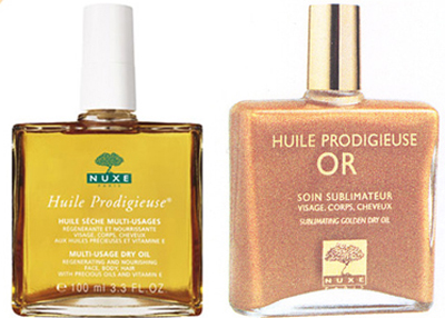 Huile Prodigieuse NUXE available at New York salon MV