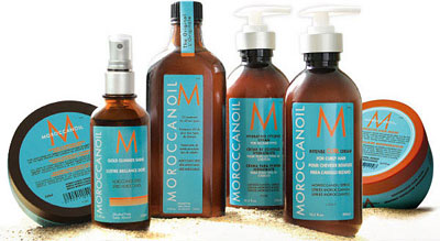 MOROCCAN OIL hair products available at New York Salon MV