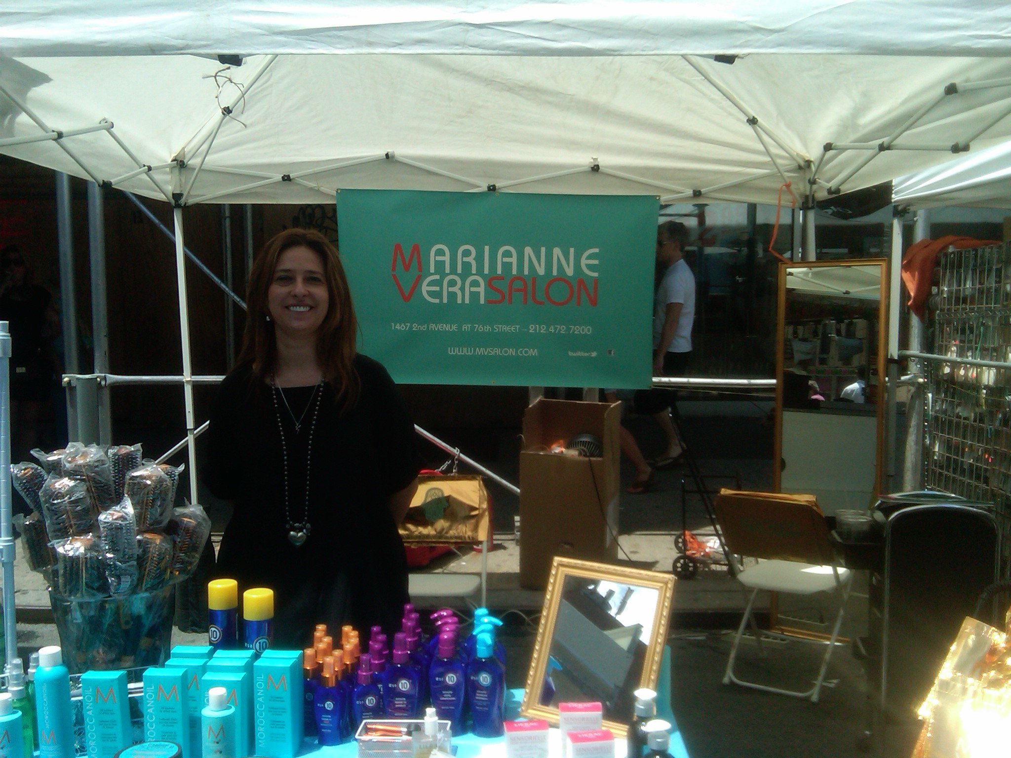 Caroline lameda owner of marianne vera salon marianne for 3rd avenue salon