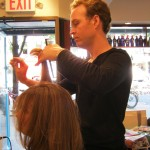 Haircut by Chris at new york salon MV