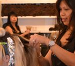 Hair color by senior colorist Dao at new york salon MV