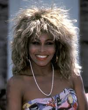 Tina Turner, Simply The Best, Hairstyle